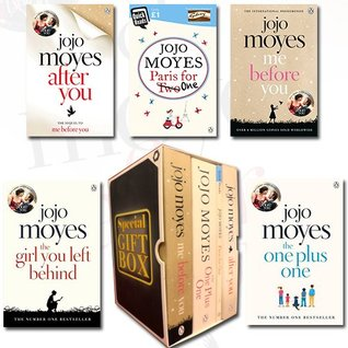 Jojo Moyes Collection The Girl You Left Behind 5 Books Bundle Gift Wrapped Slipcase Specially For You