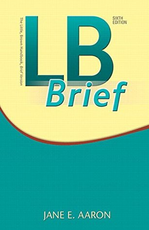 LB Brief with Tabs Plus MyWritingLab with Pearson eText -- Access Card Package (6th Edition)