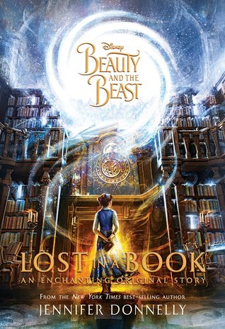 Image result for beauty and the beast lost in a book cover