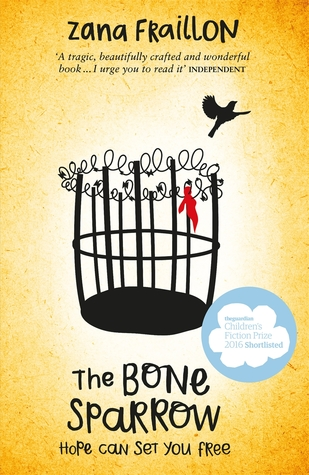 Image result for the bone sparrow book cover