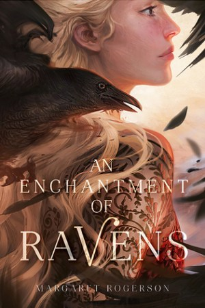Reading books An Enchantment of Ravens