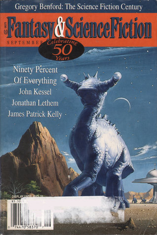 The Magazine of Fantasy & Science Fiction, September 1999 (The Magazine of Fantasy & Science Fiction, #577)