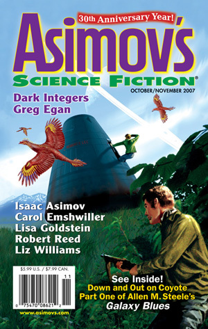 Asimov's Science Fiction, October/November 2007