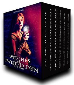 Witches of Twisted Den: Beautiful Immortals Complete Series Three (Parts 1 - 6)