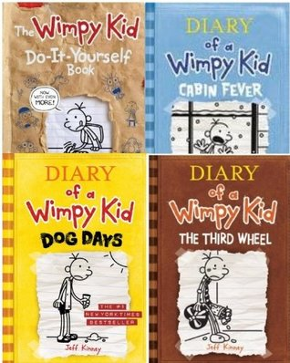 Diary of a Wimpy Kid 4 Book Collection