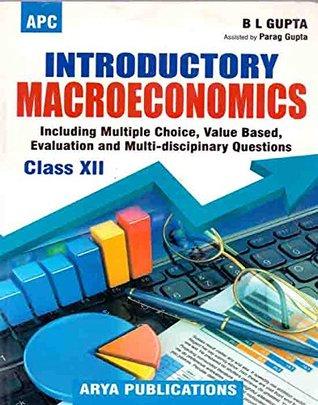 Introductory Macro Economics Class - XII