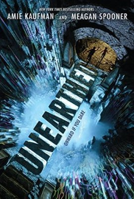 Afbeeldingsresultaat voor Unearthed by Amie Kaufman and Meagan Spooner (Unearthed, Book 1)
