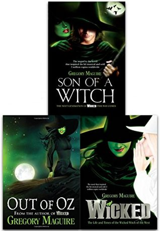 Gregory Maguire Wicked Years Collection 3 Books Set