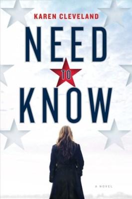 Afbeeldingsresultaat voor Need to Know by Karen Clevelandbook cover