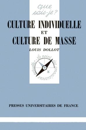 Culture individuelle et culture de masse