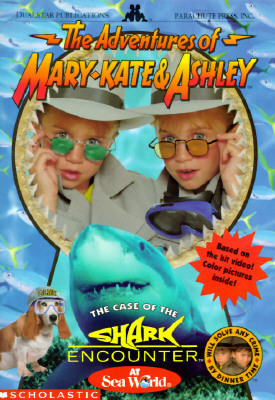 The Case of the Shark Encounter (The Adventures of Mary-Kate and Ashley, #6)