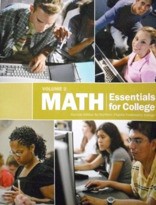 Math Essentials for College (Math Essentials for College: Custom Edition for Northern Virginia community College)