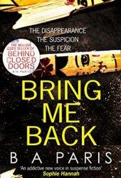 Bring Me Back Book Pdf