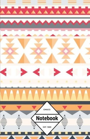 """GM&Co: Notebook Journal Dot-Grid, Lined, Graph, 120 pages 5.5""""x8.5"""": Aztec Tribe Ancient (Aztec Texture Notebook) (Volume 1)"""