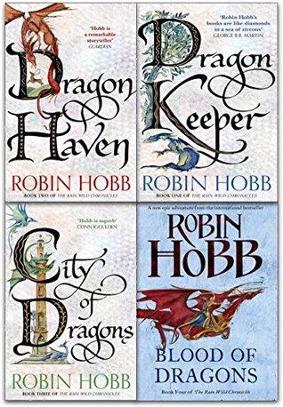 Robin Hobb The Rain Wild Chronicles Trilogy Collection 4 Books Set