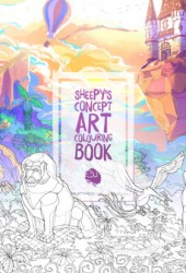 MrSuicideSheep's Concept Art Colouring Book Pdf Book