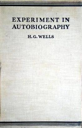 Experiment in Autobiography