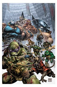 Batman/Teenage Mutant Ninja Turtles II #2