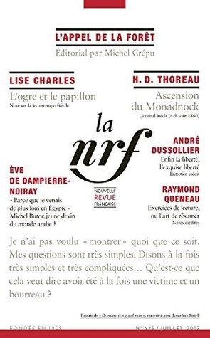 La Nouvelle Revue Française N° 625