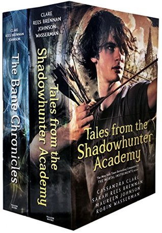 2 Books Set: Tales from the Shadowhunter Academy, The Bane Chronicles