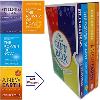 Eckhart Tolle Power of Now Collection 4 Books Bundle Gift Wrapped Slipcase Specially For You