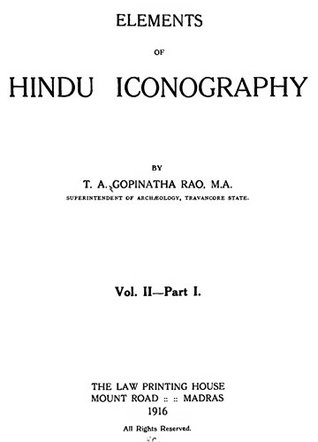 Elements of Hindu Iconography (Volume II, Part I)