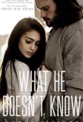 What He Doesn't Know (What He Doesn't Know Duet, #1) Book Pdf