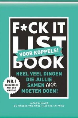 F*CK-it list book voor koppels – Jacob & Haver