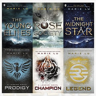 Marie Lu Collection Legend & Young Elites Series 6 Books Bundles