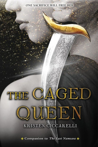 The Caged Queen by Kristen Ciccarelli Book Cover