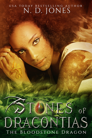 Stones of Dracontias: The Bloodstone Dragon Cover