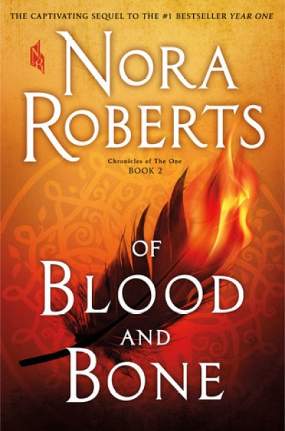 Book Cover of 'Of Blood and Bone' by Nora Roberts - December New Release