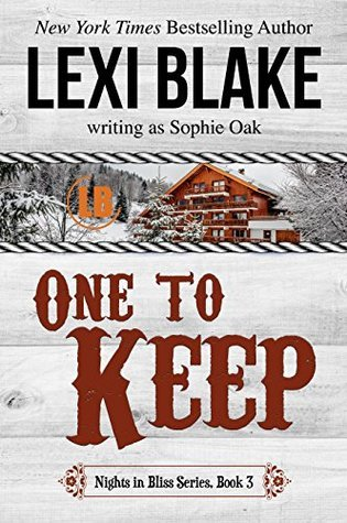 RELEASE EVENT: ONE TO KEEP by Lexi Blake