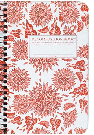 Sunflowers Pocket Coilbound Decomposition Book