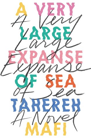 A Very Large Expanse of Sea by Tahereh Mafi Book Cover