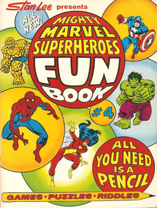 Mighty Marvel Superheroes Fun Book, No. 4