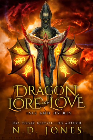Dragon Lore and Love: Isis and Osiris Cover