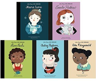 Little people, big dreams series 2:5 books collection set