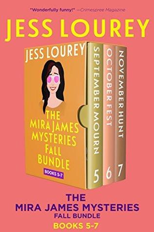 Mira James Mysteries Fall Bundle, Books 5-7 (September, October, November): Three Full-length, Funny Mystery Novels (A Mira James Mystery Collection Book 2)