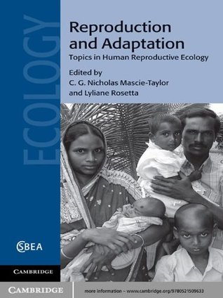 Reproduction and Adaptation (Cambridge Studies in Biological and Evolutionary Anthropology)