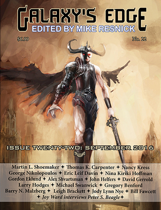Galaxy's Edge Magazine Issue 22, September 2016