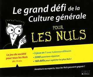 Coffret - Le grand défi de la culture générale pour les Nuls: Le jeu de société pour tous les Nuls