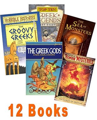 Greek & Roman for Kids: Percy Jackson Olympian Series #1-2; the Golden Fleece; Say Cheese Medusa; the Greek Gods; Greek Top Ten Greek Legends; It's All Greek to Me; Pifitos : A Newly Found Unknown Poem of Homer