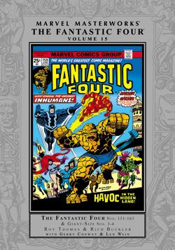 Marvel Masterworks: The Fantastic Four, Vol. 15