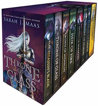 Throne of Glass Box Set (Throne of Glass #0.5-7)