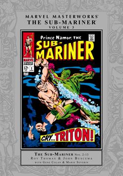 Marvel Masterworks: The Sub-Mariner, Vol. 3
