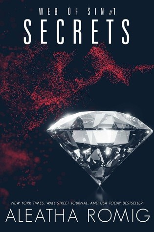 REVIEW BLITZ:  SECRETS (Web of Sins #1) by Aleatha Romig
