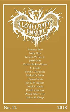 Lovecraft Annual No. 12