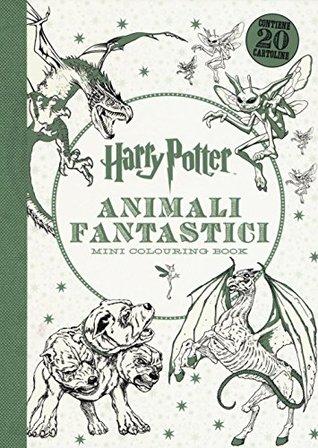 Harry Potter. Animali fantastici. Mini colouring book