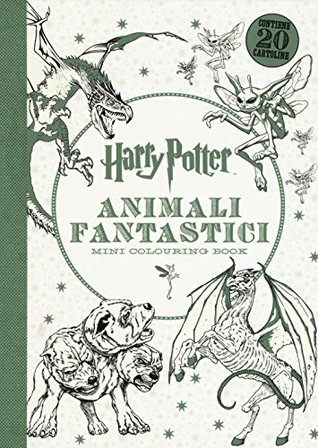 Harry Potter. Animali fantastici. Mini colouring book